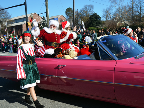 Kennesaw Christmas Parade 2019 A Day with Santa   City of Kennesaw