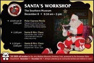 Santa's Workshop @ Southern Museum | Kennesaw | Georgia | United States