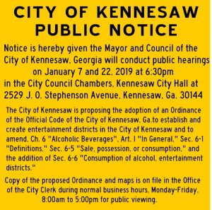Photo of Public Notice