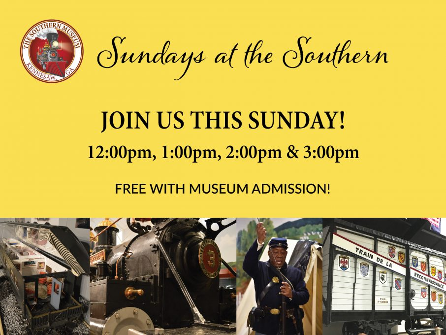 Sundays at the Southern info graphic