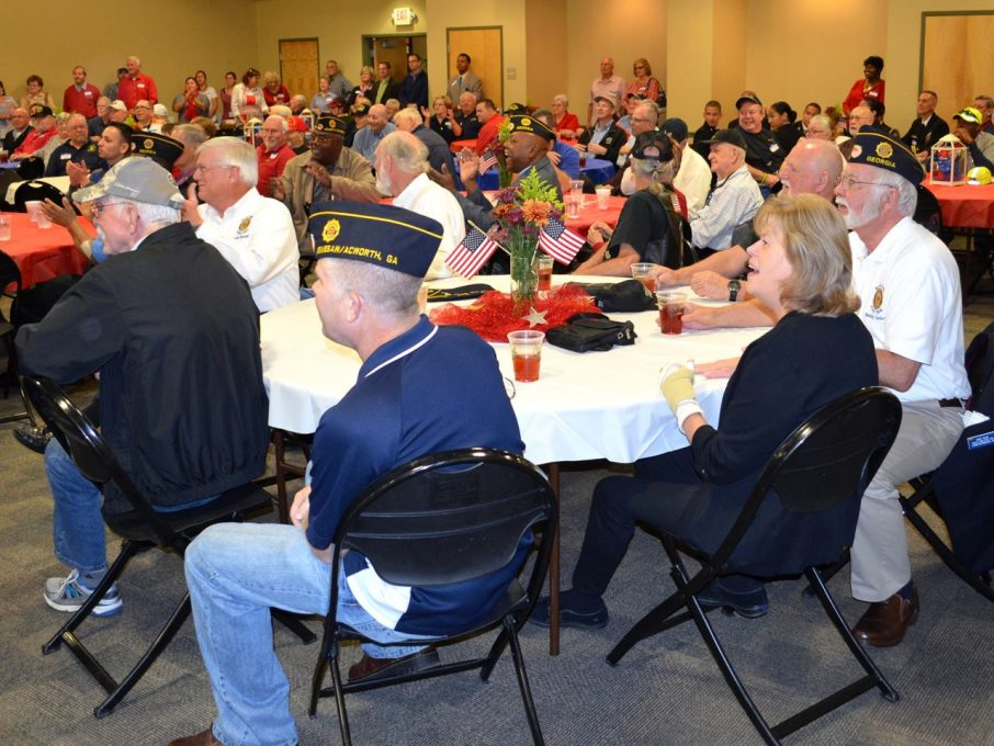 photo from veterans day lunch