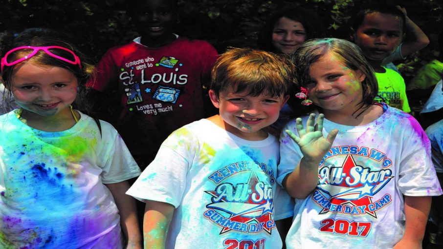 photo of kids from summer camp