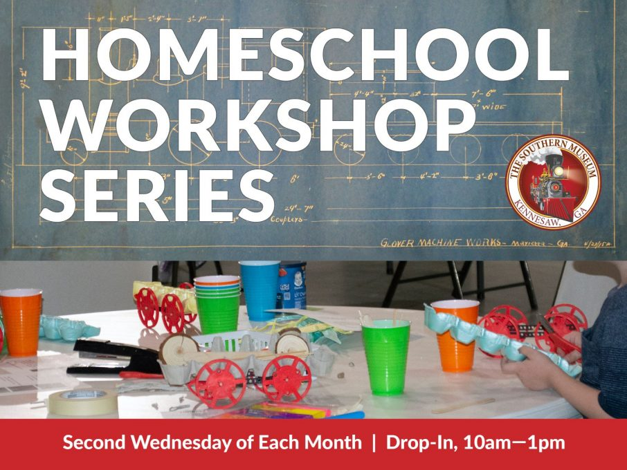 promo image for homeschool workshop series