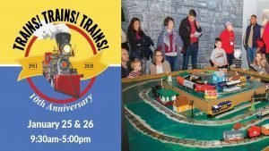 Trains! Trains! Trains! @ The Southern Museum of Civil War & Locomotive History