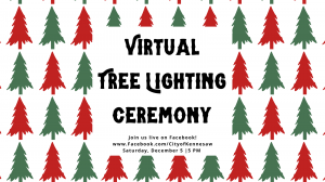Virtual Tree Lighting Ceremony @ Facebook Live