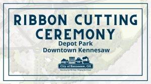 Ribbon Cutting - Depot Park @ Depot Park